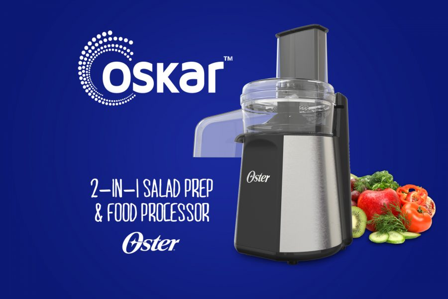 Oster® Oskar 2-in-1 Salad & Food Processor